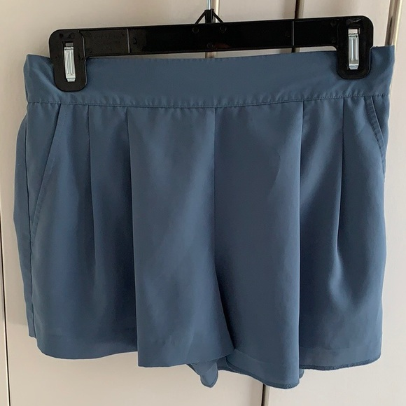 Rubbish Pants - Rubbish Shorts in Dusty Blue Size S